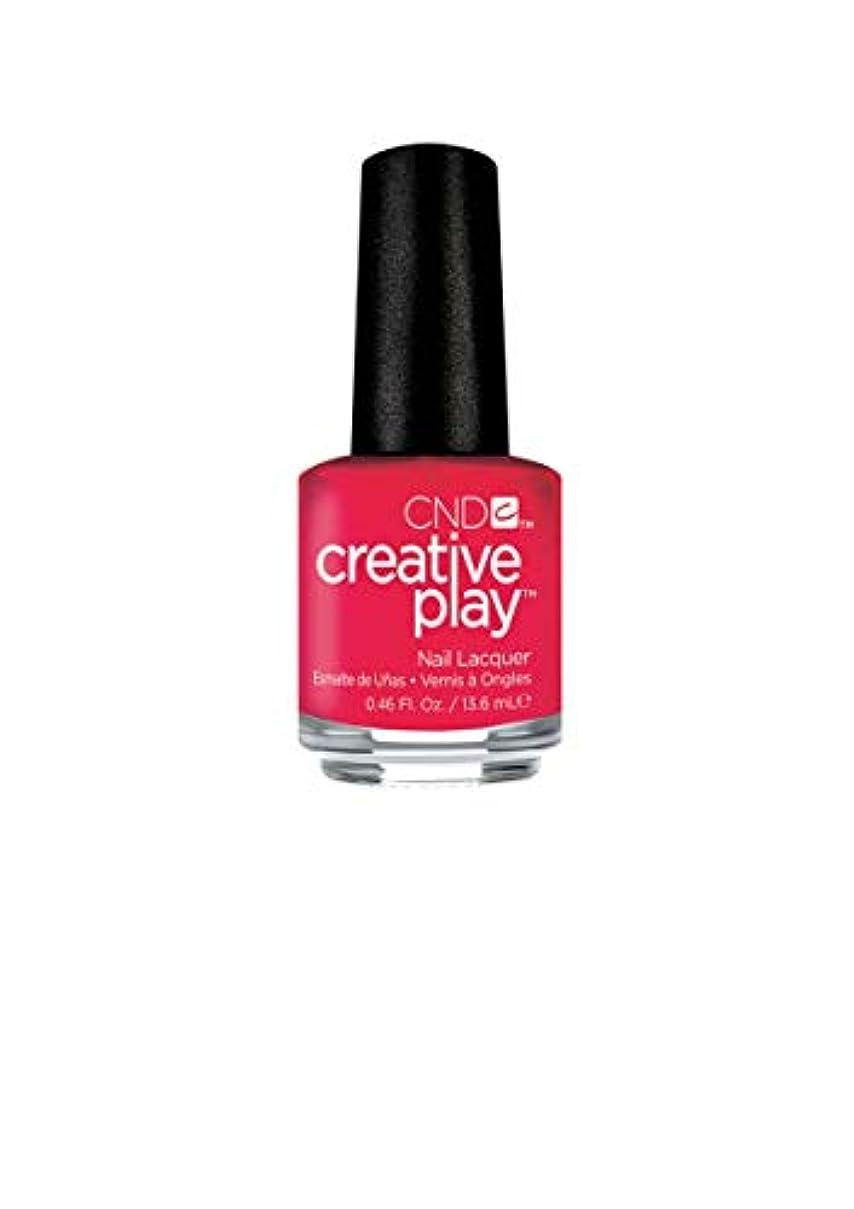 ゴシップ提供する肉CND Creative Play Lacquer - Well Red - 0.46oz / 13.6ml