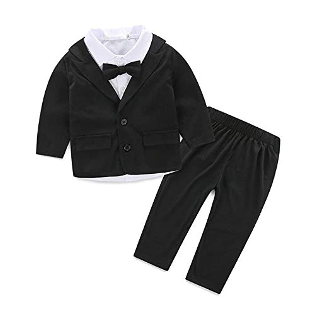 大惨事午後ねじれSuerba キッズ フォーマル スーツ ベビー服 シャツ ジャケット ズボン 3点セット 男の子 洋服 紳士服 結婚式