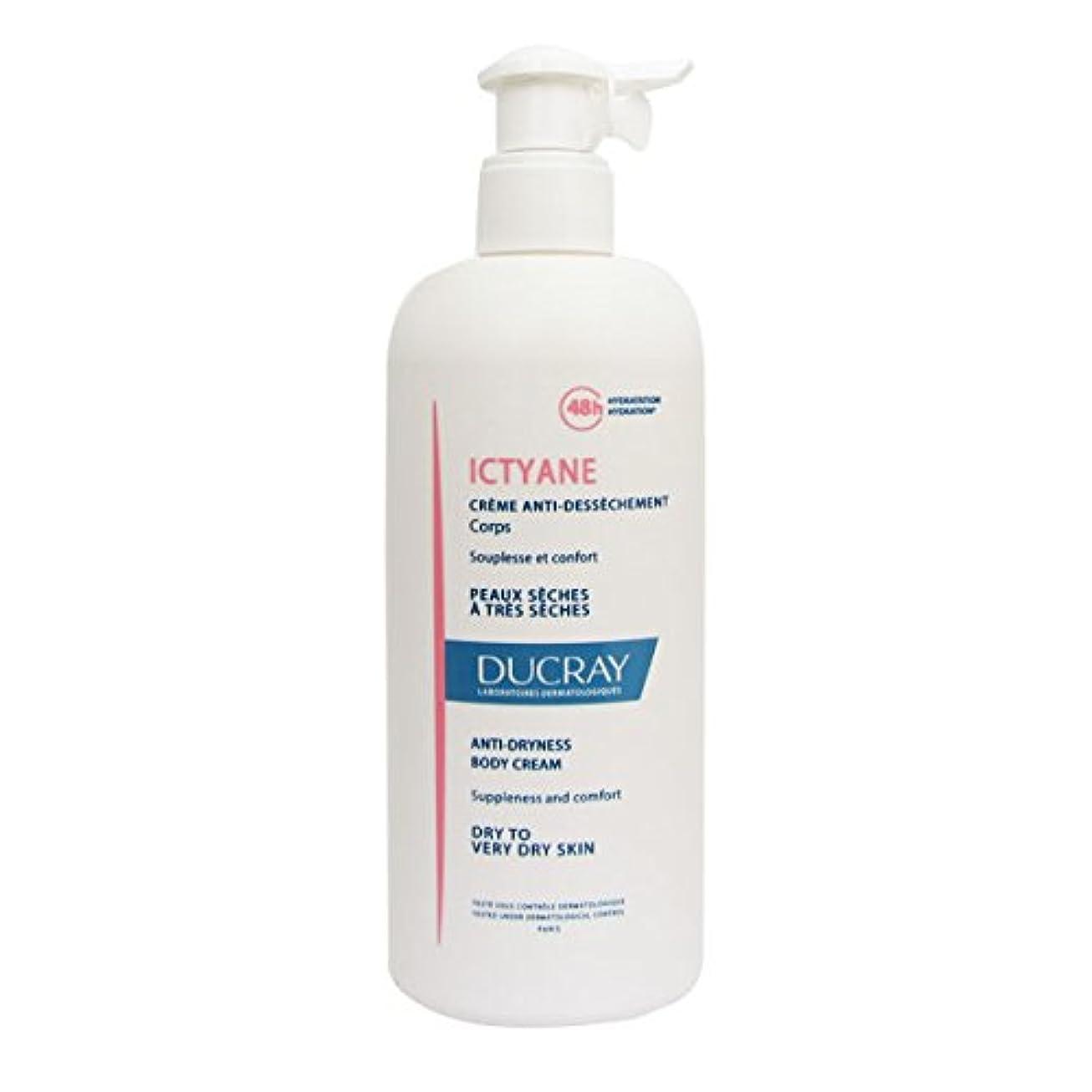 列挙する打撃クリスチャンDucray Ictyane Moisturizing Emollient Cream 400ml [並行輸入品]