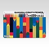 サクラクレパス クーピーペンシル24色(缶入り) FY24
