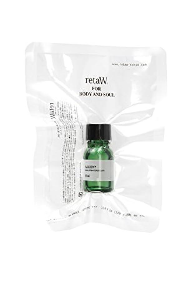 動乳剤小さな【retaW】フレグランスオイル ALLEN*