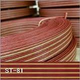 兎屋 紙バンド手芸用 ストライプ くらふと×赤ぶどう 10m巻き