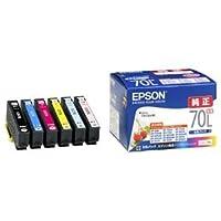 (まとめ) エプソン EPSON インクカートリッジ 増量6色パック IC6CL70L 1箱(6個:各色1個) 【×3セット】 AV デジモノ パソコン 周辺機器 インク インクカートリッジ トナー インク カートリッジ エプソン(EPSON)用 [並行輸入品]