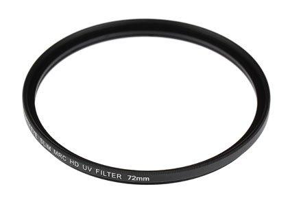 Nikon D500 16-80 VR レンズキット(AF-S DX NIKKOR 16-80mm f/2.8-4E ED VR)用 互換マルチコートUVレンズ保護フィルター 72mm