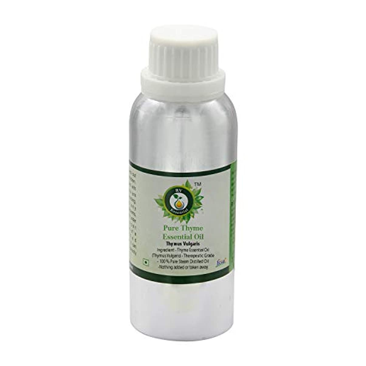 辛い誤ってつまらないR V Essential ピュアThymeエッセンシャルオイル300ml (10oz)- Thymus Vulgaris (100%純粋&天然スチームDistilled) Pure Thyme Essential Oil