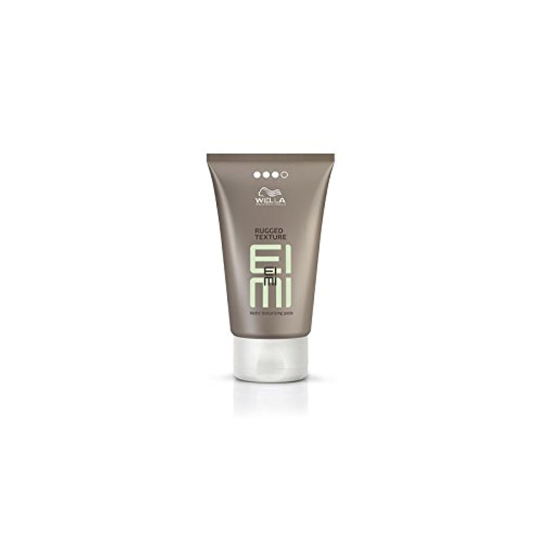 冷ややかな疼痛下位ウエラ専門家頑丈なテクスチャペースト(75ミリリットル) x4 - Wella Professionals Eimi Rugged Texture Paste (75ml) (Pack of 4) [並行輸入品]