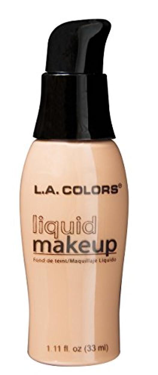 パテカリキュラム気づかないLA COLORS Liquid Makeup Natural (並行輸入品)