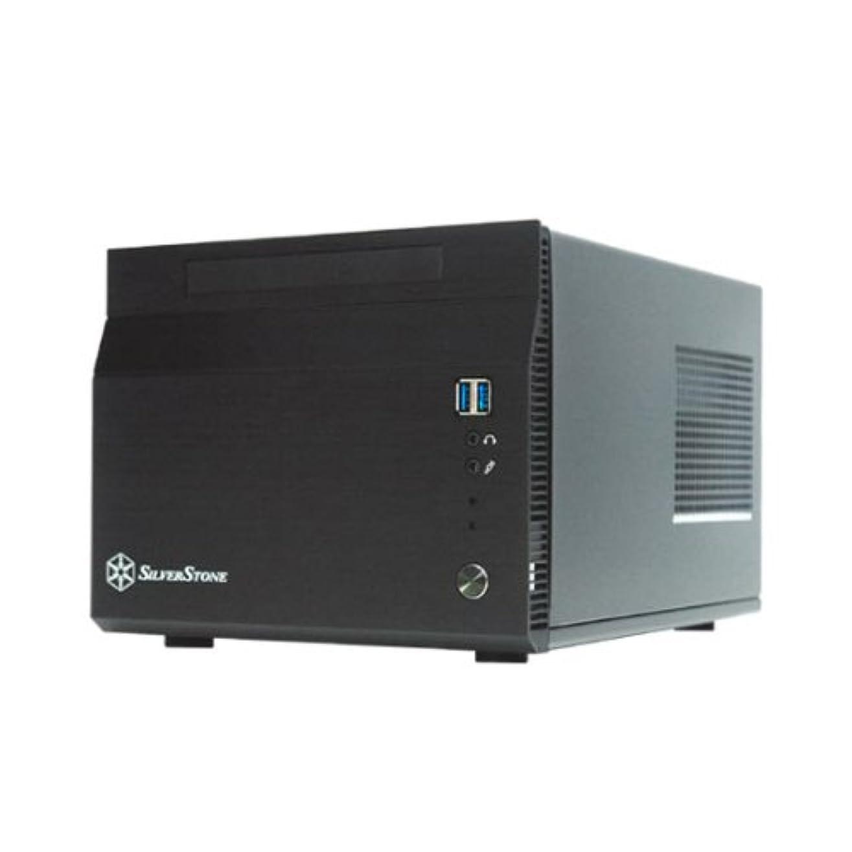 くつろぐ制限する保険SilverStone MINI-ITXケース 300W SST-SG06B USB3.0 SST-SG06B USB3.0