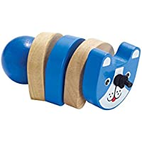 Manhattan Toy Click-Clack Dog Wooden Clutching Toy [並行輸入品]