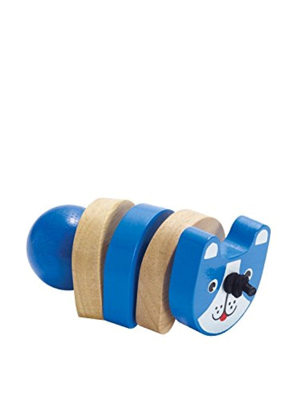 Manhattan Toy Click-Clack Dog Wooden Clutching Toy [並行輸入品]
