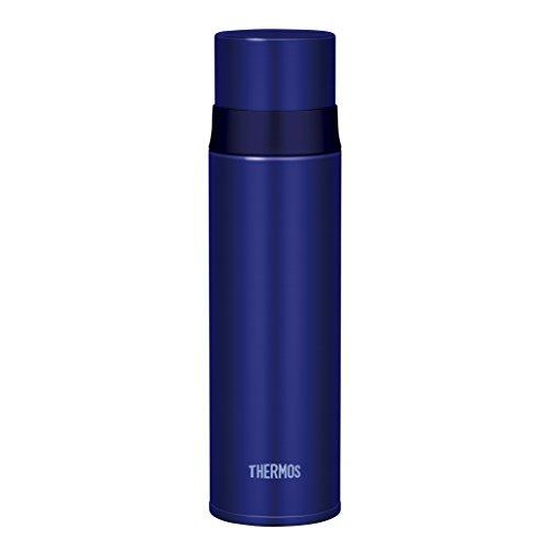 サーモス 水筒 ステンレススリムボトル 500ml ブルー ...