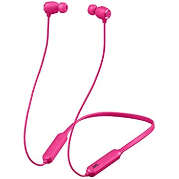 JVC HA-XC10BT-P Bluetoothイヤホン XXシリーズ/重低音/防水・防塵・耐衝撃/ネックバンド/15時間連続再生 ピンク