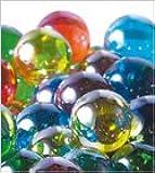松野ホビー ビー玉 ガラス玉 日本製 25mm オーロラ ミックス 1袋(50粒入) O1242