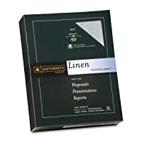 25%コットンリネンビジネス用紙、グレー、24ポンド。、8–1/ 2x 11, 500/ボックス、FSC、Sold As 1ボックス 1-Pack