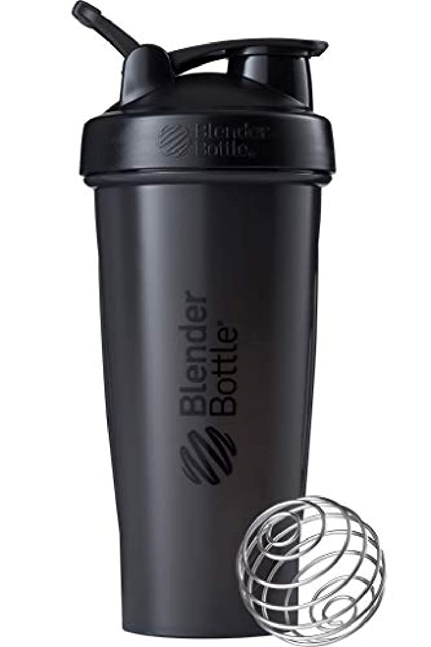強調印象うなずくブレンダーボトル 【日本正規品】 ミキサー シェーカー ボトル Classic 28オンス (800ml) ブラック BBCLE28 FCBK