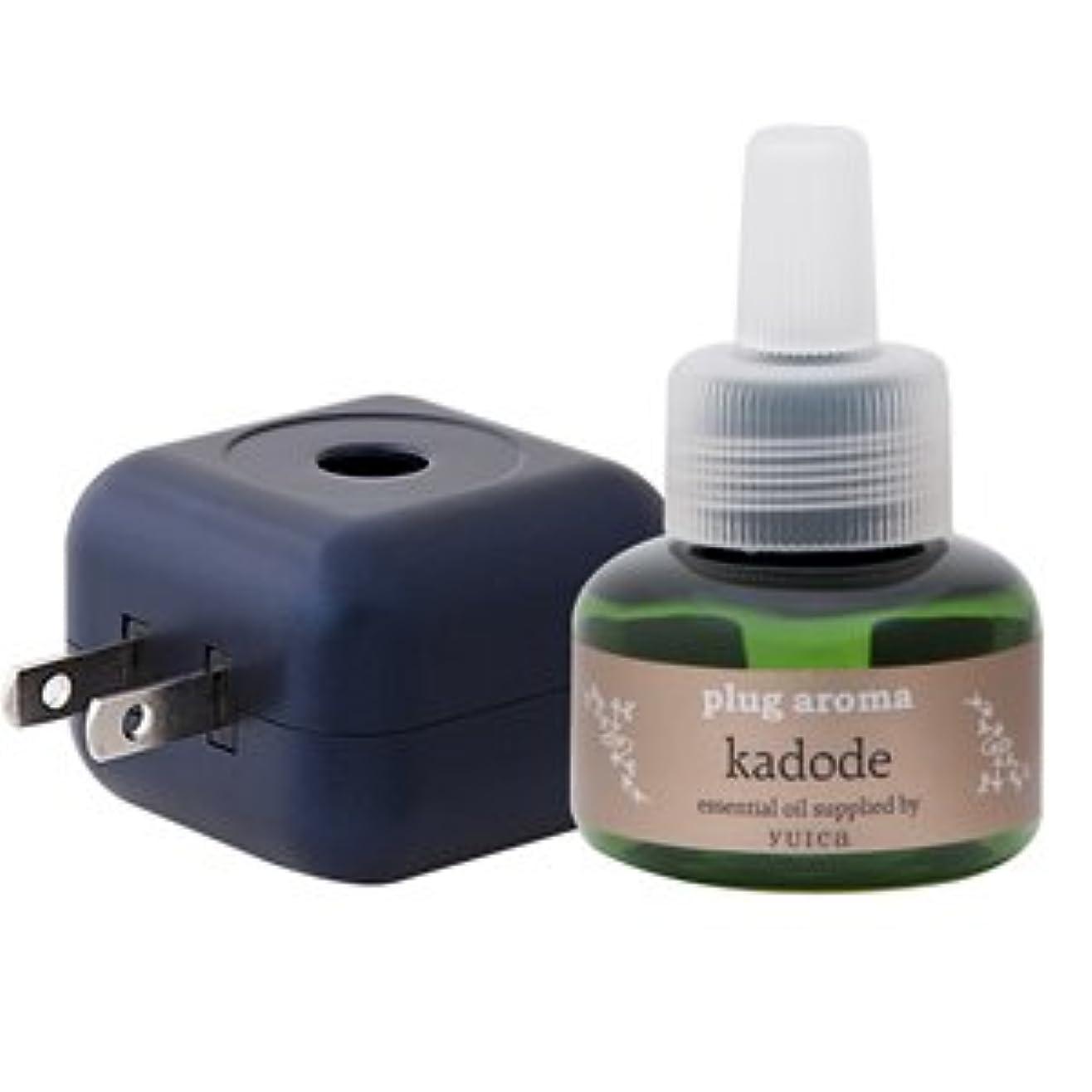 生きる解決アクセサリーplug aroma kadode 門出 SET 25ml