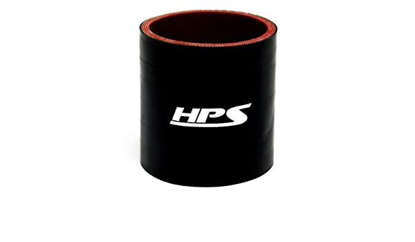 45 PSI Maximum Pressure Black 4 Length 4-1//4 ID HPS Silicone Hoses 4-1//4 ID 4 Length HPS HTSC-425-L4-BLK Silicone High Temperature 4-ply Reinforced Straight Coupler Hose