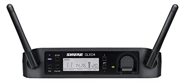 テレビ偽装するきつくSHURE ワイヤレスシステム用 受信機 GLX-Dシリーズ シングルチャンネル ダイバーシティ GLXD4J 【国内正規品】