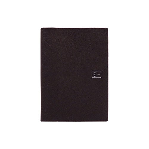 ロンド工房 手帳 2019年 A6 ウィークリー ブラウニー手帳 ブラウン B19104 (2018年 11月始まり)