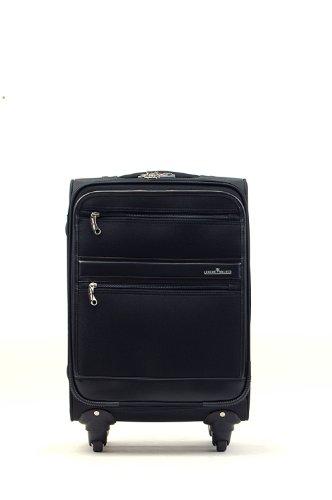 T&S ティーアンドエス LEGEND WALKER レジェンドウォーカー 軽量 ソフト キャリーケース キャリーバッグ Sサイズ 1~3泊用 TSAロック ブラック 4038-50 50cm/3.6kg
