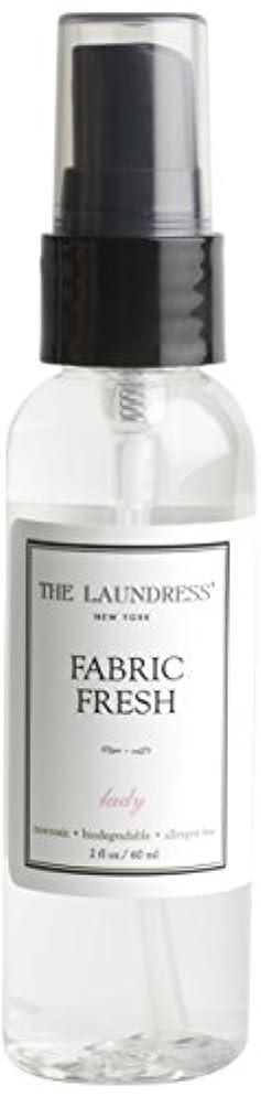 縞模様のヘロインシダTHE LAUNDRESS(ザ?ランドレス)  ファブリックフレッシュ ladyの香り60ml 【日本限定品】