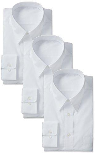 [フレックスジャパン]3枚セット 形態安定 ベーシックワイシャツ  メンズ