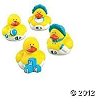 Set of 12 Baby Boy Rubber Duckys (Assortment) [並行輸入品]