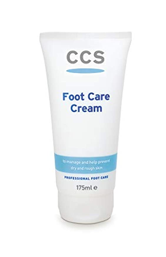 擬人光沢のある余分なCCS Foot Care Cream 175ml by CCS