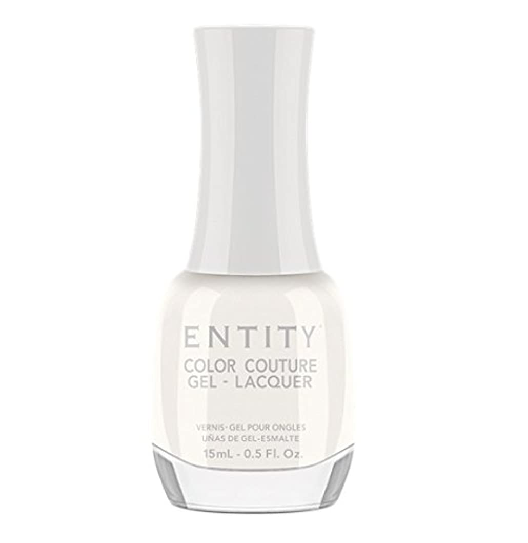 ベイビー国勢調査癒すEntity Color Couture Gel-Lacquer - Nothing To Wear - 15 ml/0.5 oz