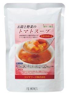 コジマフーズ 五穀と野菜のトマトスープ 160g ×6セット