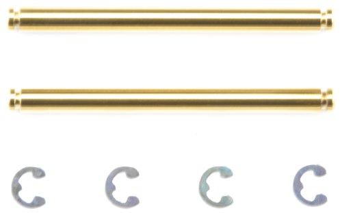 ホップアップオプションズ OP.1212 Mシャーシ 3 × 37mm チタンコートサスシャフト (2本) 54212