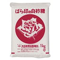 【常温】【20個】上白糖 PTK 1kg ばら印