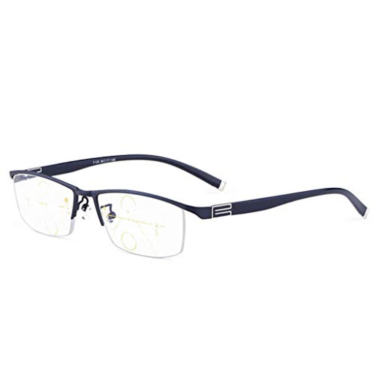 子行進受信デュアルユースHDスマートズーム老眼鏡、頑丈なヒンジ、柔軟な開閉、ソフトで快適なユニセックス。 【グレー系】アンチブルーライト