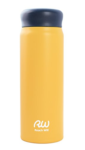 Reach Will魔法瓶 マグボトル マットイエロー 約480ml RAB-48MYE