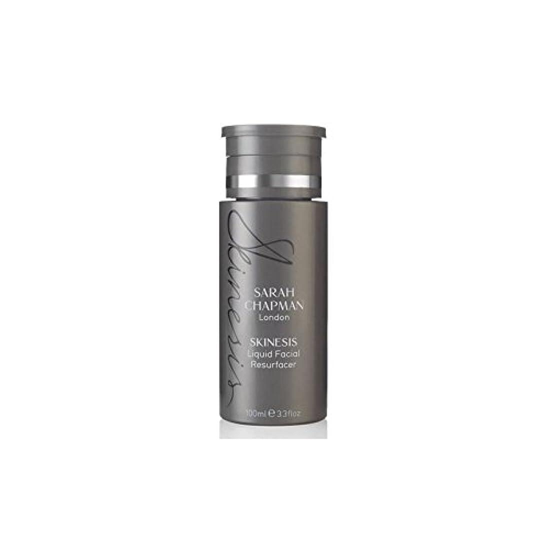 忙しい三筋肉のサラチャップマン液体顔(100)に x4 - Sarah Chapman Skinesis Liquid Facial Resurfacer (100ml) (Pack of 4) [並行輸入品]