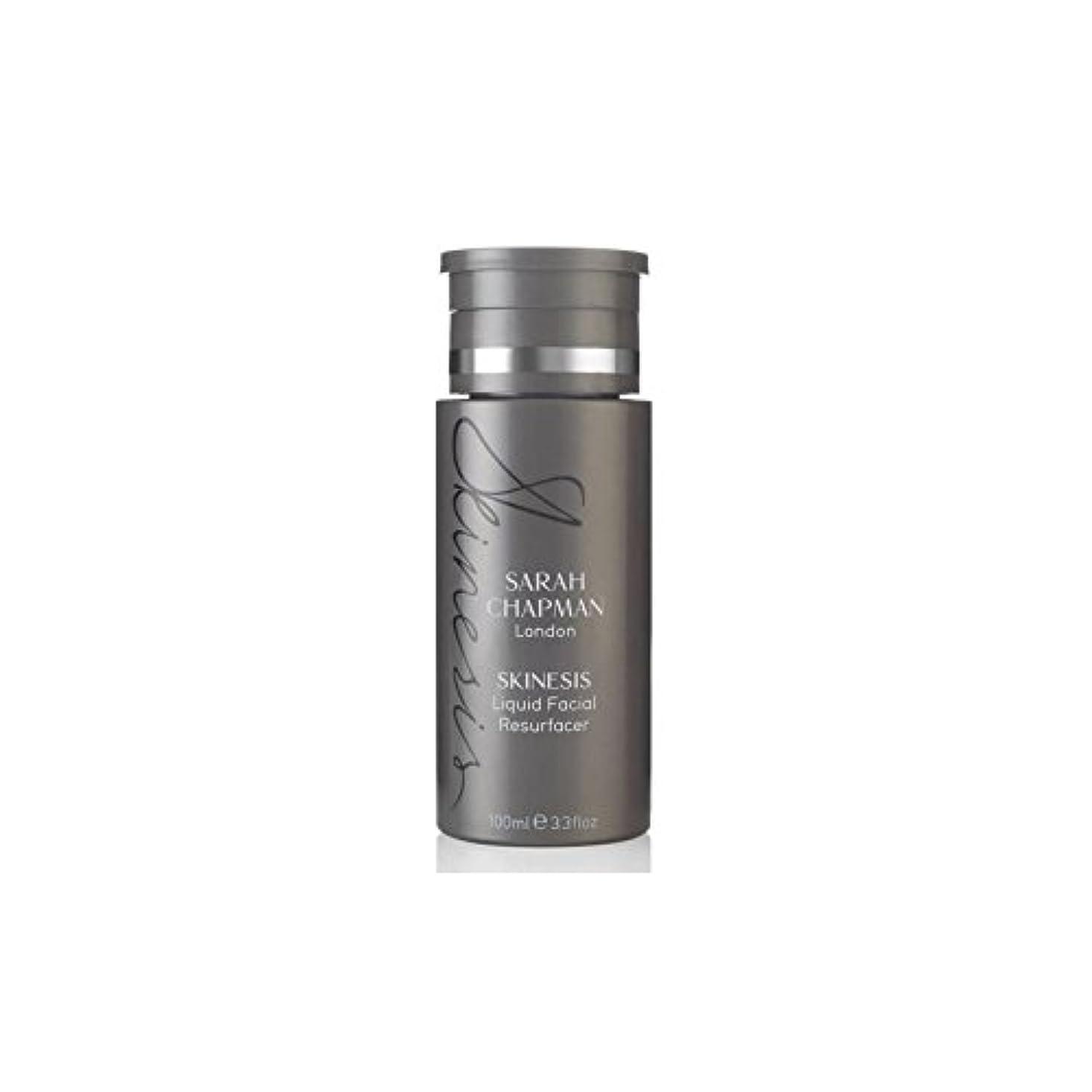 ワイプスタジオ白雪姫サラチャップマン液体顔(100)に x4 - Sarah Chapman Skinesis Liquid Facial Resurfacer (100ml) (Pack of 4) [並行輸入品]