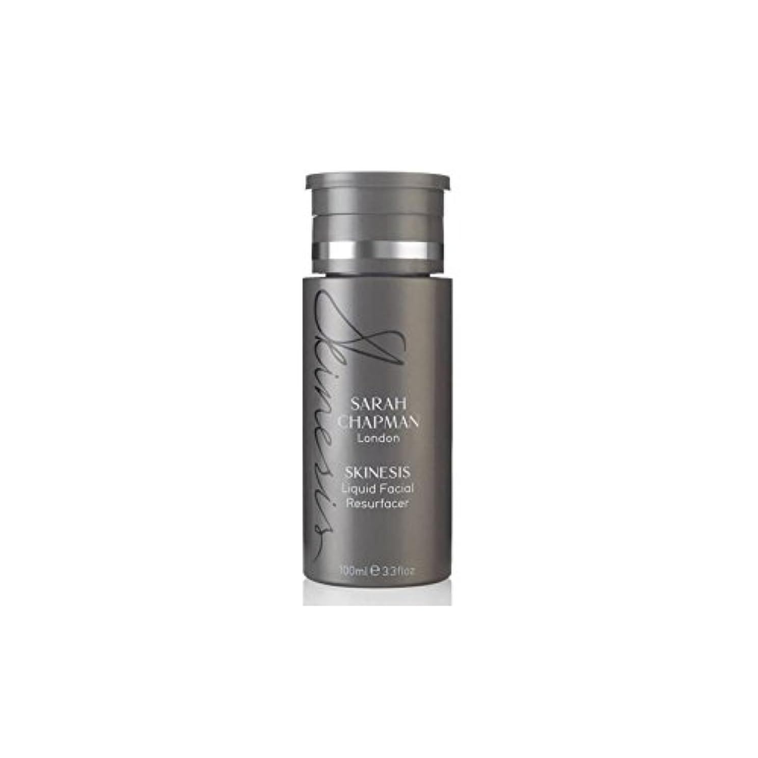 フェンス彫る妖精Sarah Chapman Skinesis Liquid Facial Resurfacer (100ml) (Pack of 6) - サラチャップマン液体顔(100)に x6 [並行輸入品]