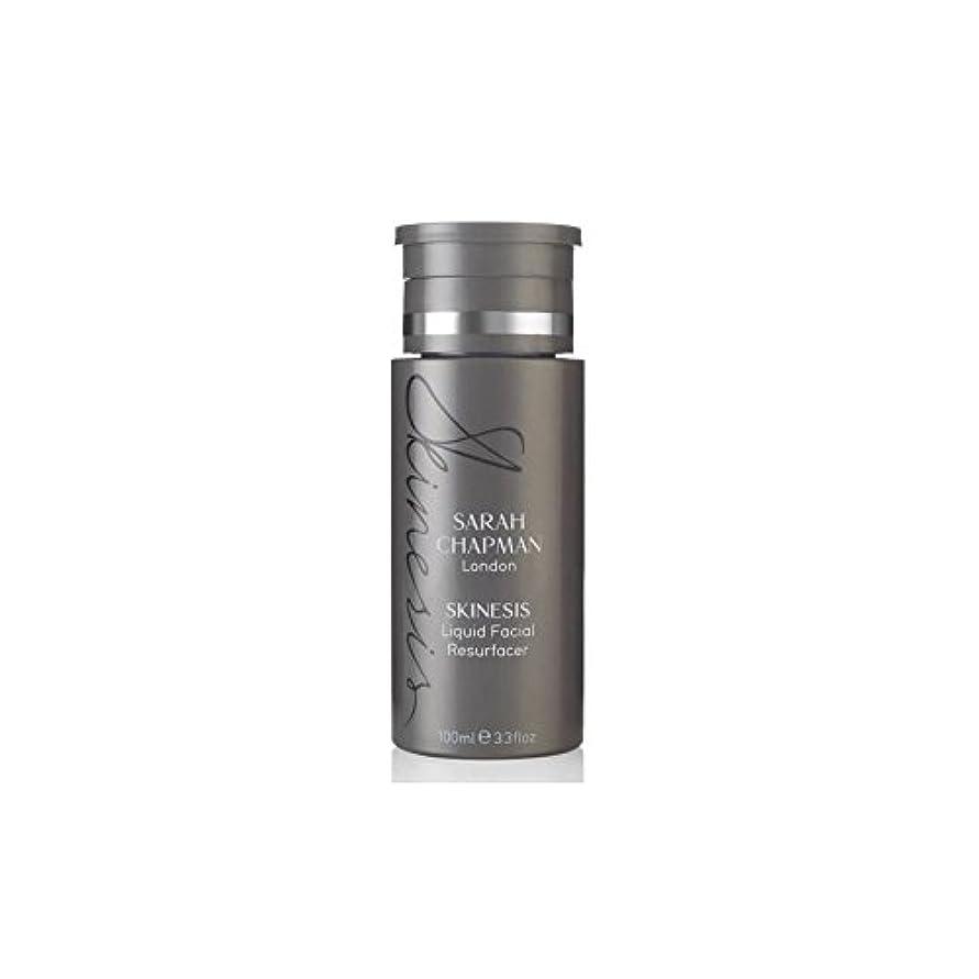 適度にするだろうステートメントSarah Chapman Skinesis Liquid Facial Resurfacer (100ml) (Pack of 6) - サラチャップマン液体顔(100)に x6 [並行輸入品]