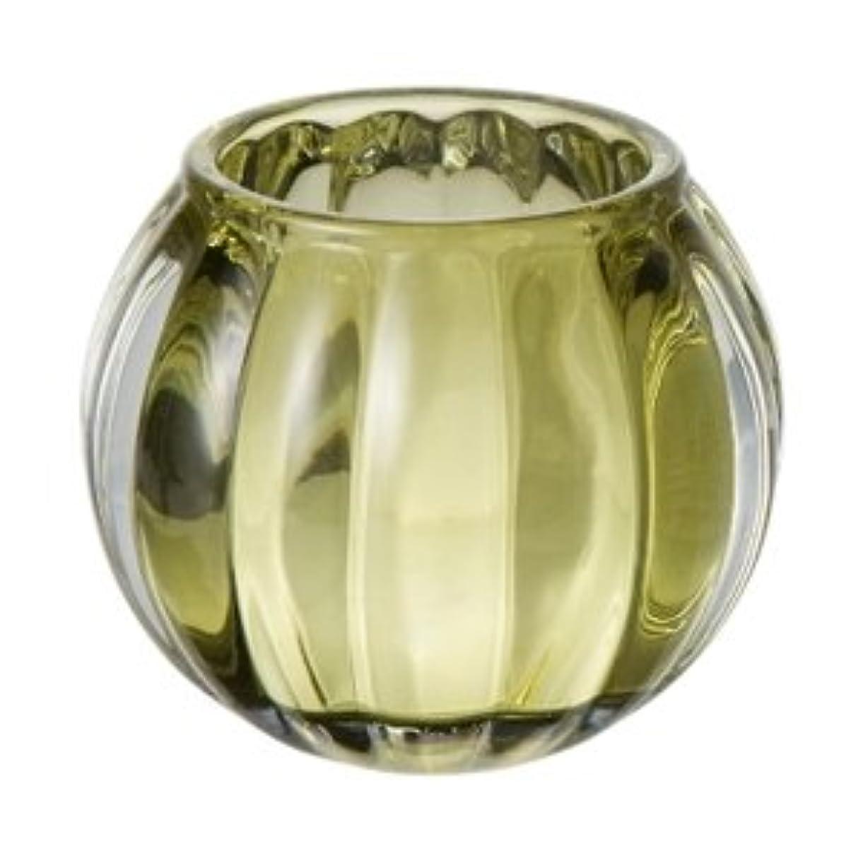 下線高揚した潤滑するキャンドルグラス スクワッシュ グリーン