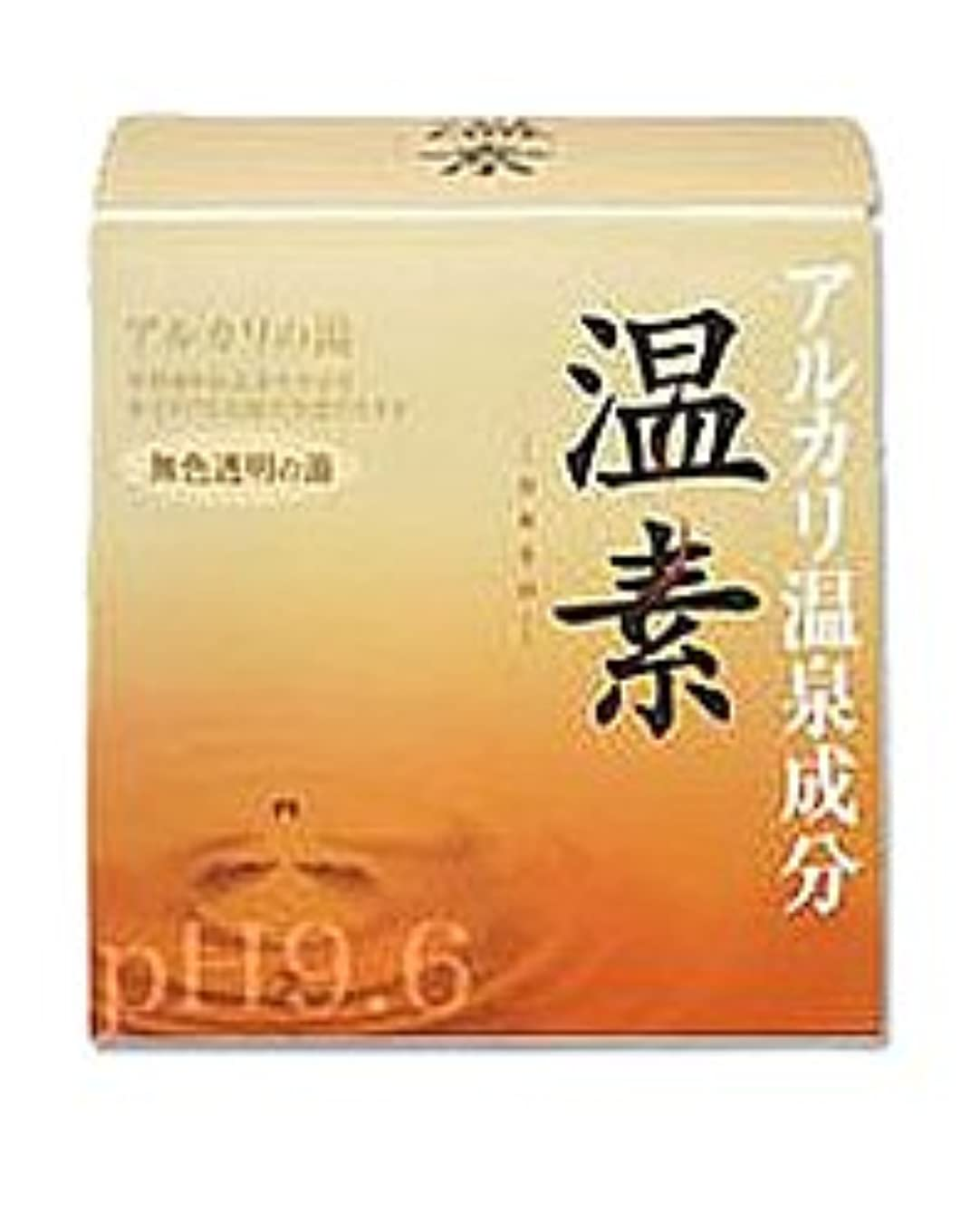 【アース製薬】温素 アルカリ温泉成分 無色透明の湯 30g*15包 ×5個セット
