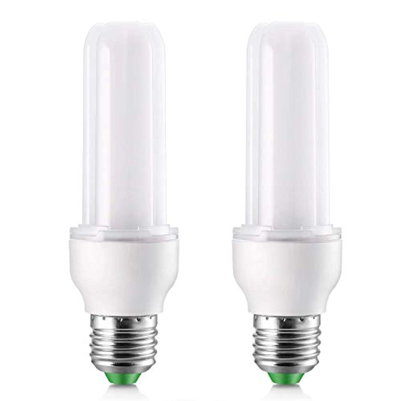 仲良し言うまでもなく起業家Elrigs LED電球 電球形蛍光灯代替 E26口金 T型 コーン型 9W(75W白熱電球相当)1000ルーメン 昼光色(6000K) 全方向タイプ