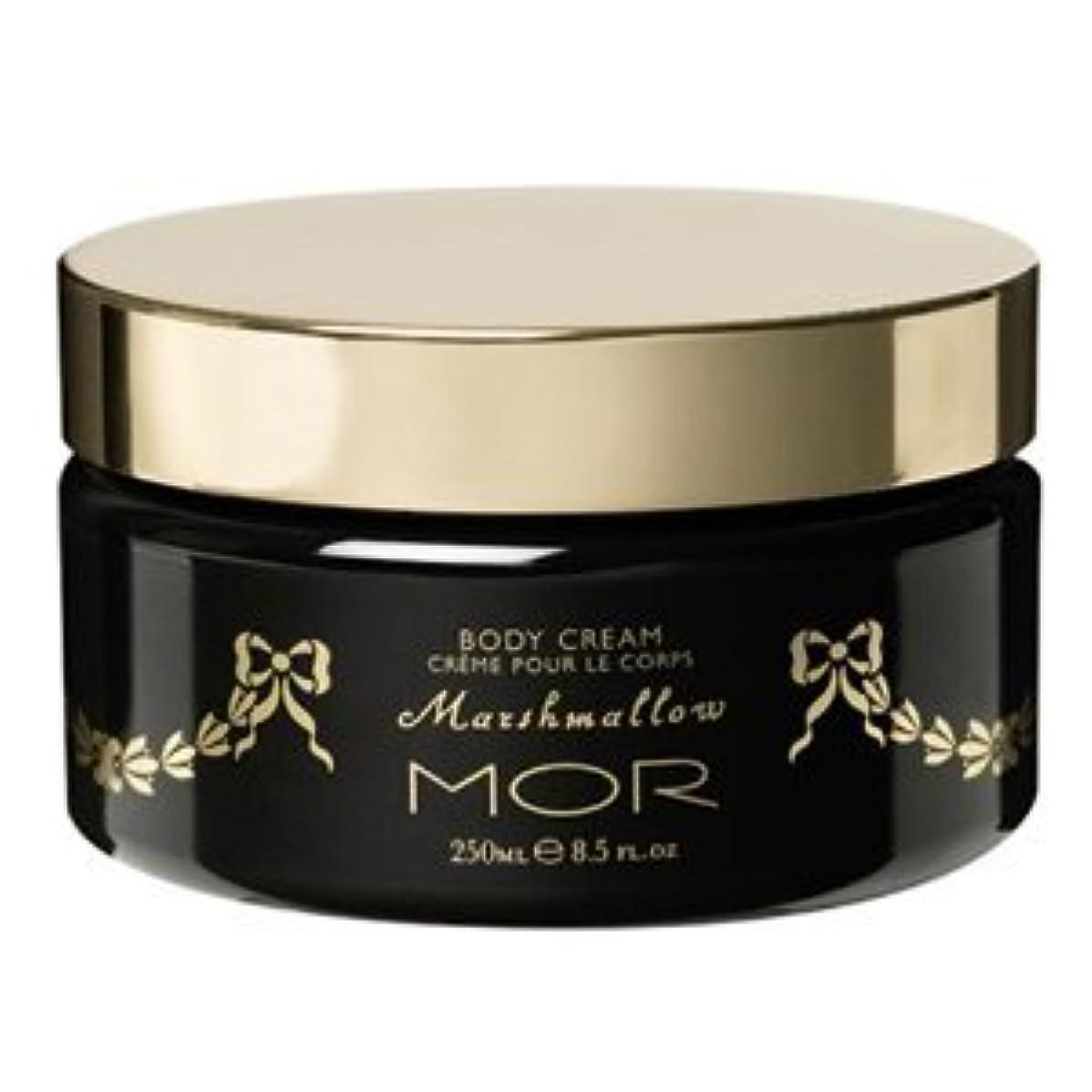 論理的スタジオ透明に【MOR Cosmetincs】浜崎あゆみさん愛用のモア?マシュマロボディクリーム(Marshmallow Body Cream)250ml