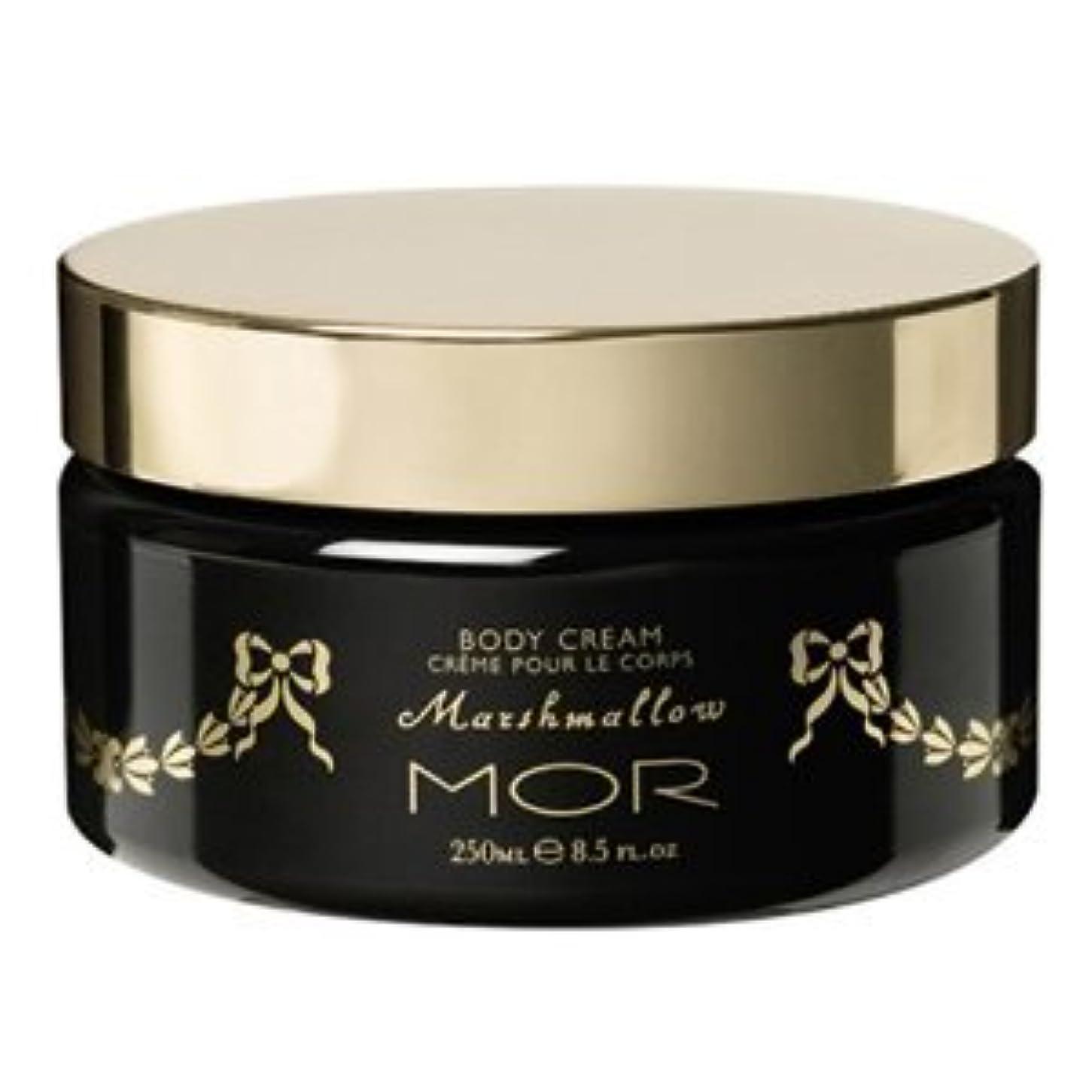 マオリ範囲受け取る【MOR Cosmetincs】浜崎あゆみさん愛用のモア?マシュマロボディクリーム(Marshmallow Body Cream)250ml