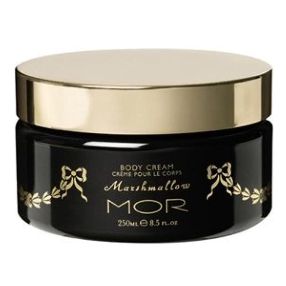 美しいボーダー哲学的【MOR Cosmetincs】浜崎あゆみさん愛用のモア?マシュマロボディクリーム(Marshmallow Body Cream)250ml