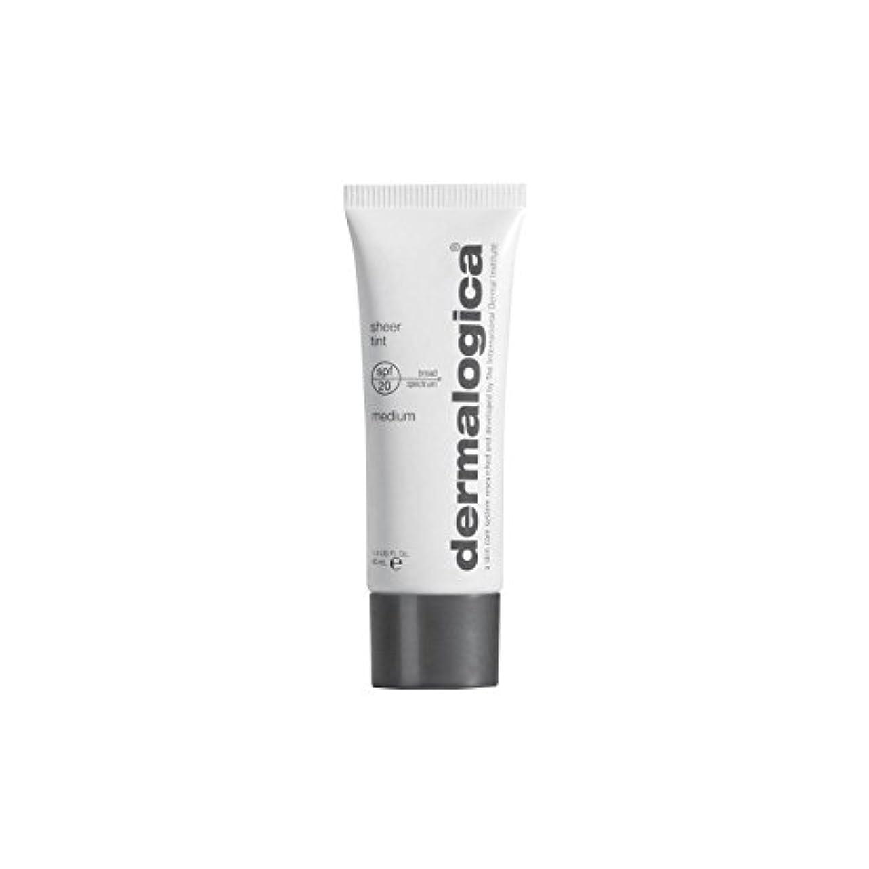 ダーマロジカシアーティント 20-メディア x4 - Dermalogica Sheer Tint Spf 20- Medium (Pack of 4) [並行輸入品]