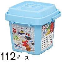 ブロック おもちゃ ブロック バケツ112 ビビッド 基本色 Artecブロック 基本セット
