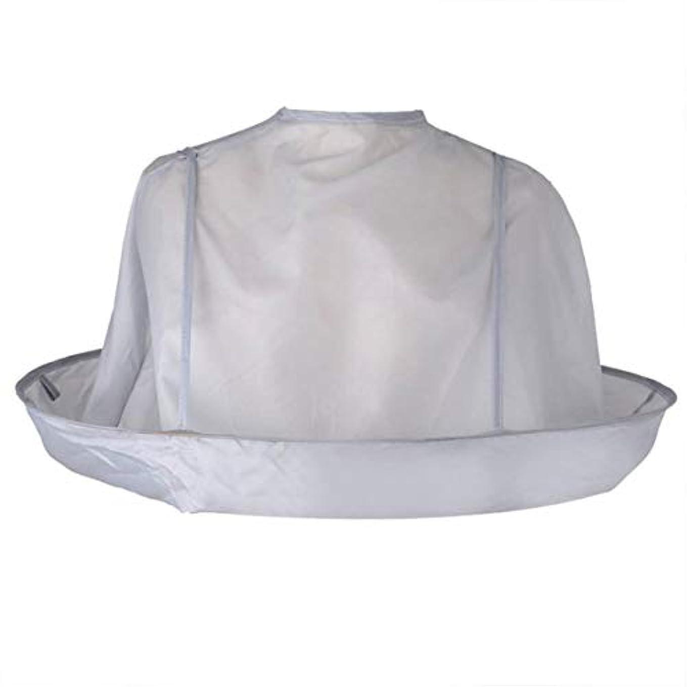 ファックス承認愛撫Intercoreyヘアカットスカーフケープ折りたたみ大人のヘアカットスカーフヘアカラーマント傘理容岬