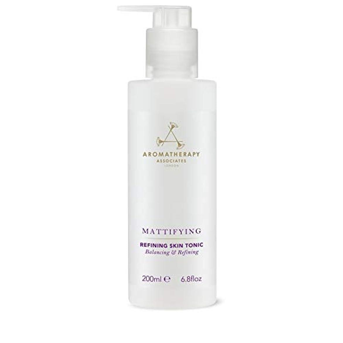 弱点アプト赤外線[Aromatherapy Associates ] アロマセラピーアソシエイツ精錬皮膚の強壮剤、アロマセラピーアソシエイツ - Aromatherapy Associates Refining Skin Tonic,...
