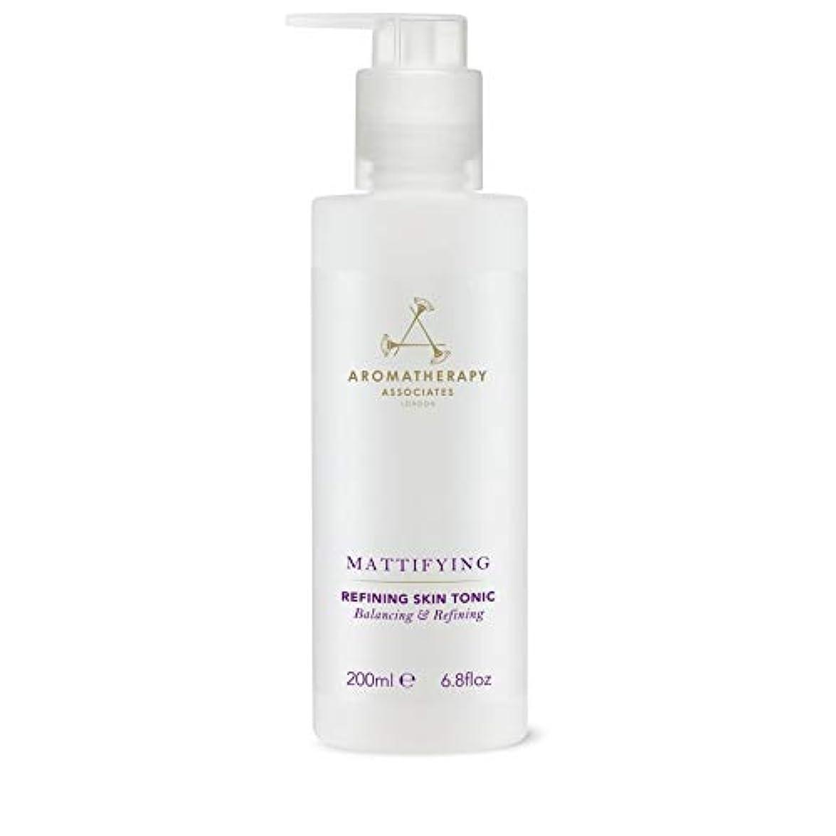 汚れたきれいに消毒する[Aromatherapy Associates ] アロマセラピーアソシエイツ精錬皮膚の強壮剤、アロマセラピーアソシエイツ - Aromatherapy Associates Refining Skin Tonic,...