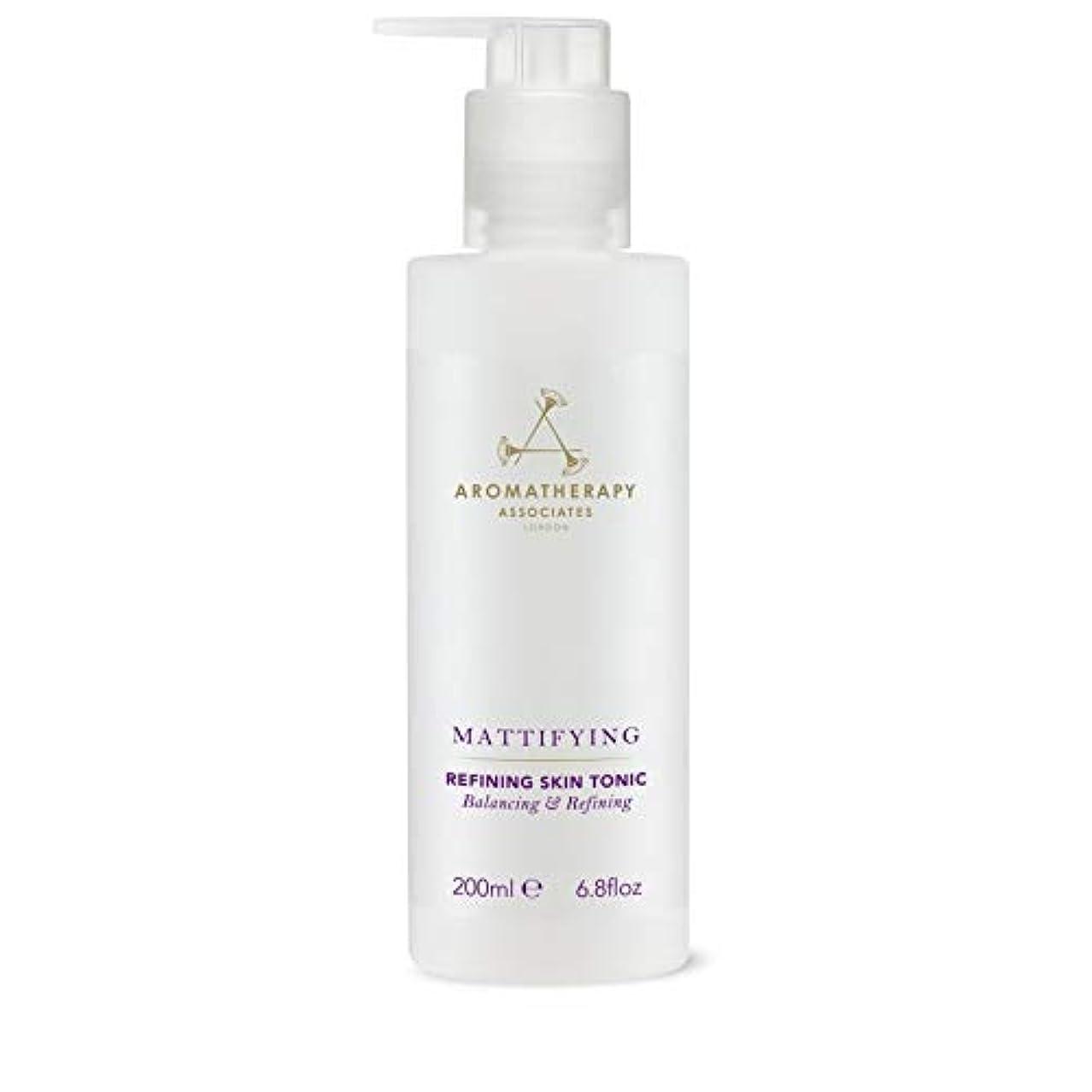 ゆりその他脅かす[Aromatherapy Associates ] アロマセラピーアソシエイツ精錬皮膚の強壮剤、アロマセラピーアソシエイツ - Aromatherapy Associates Refining Skin Tonic,...